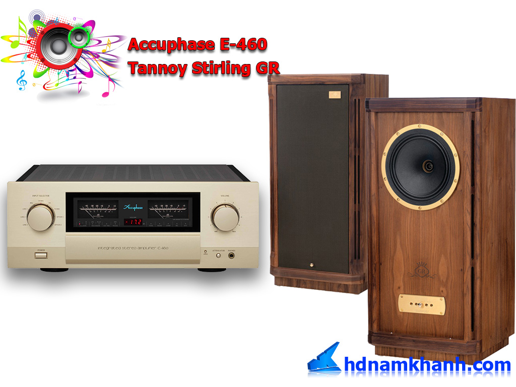 Dinh cao choi am thanh khi phoi ghep loa Tannoy va amply Accuphase