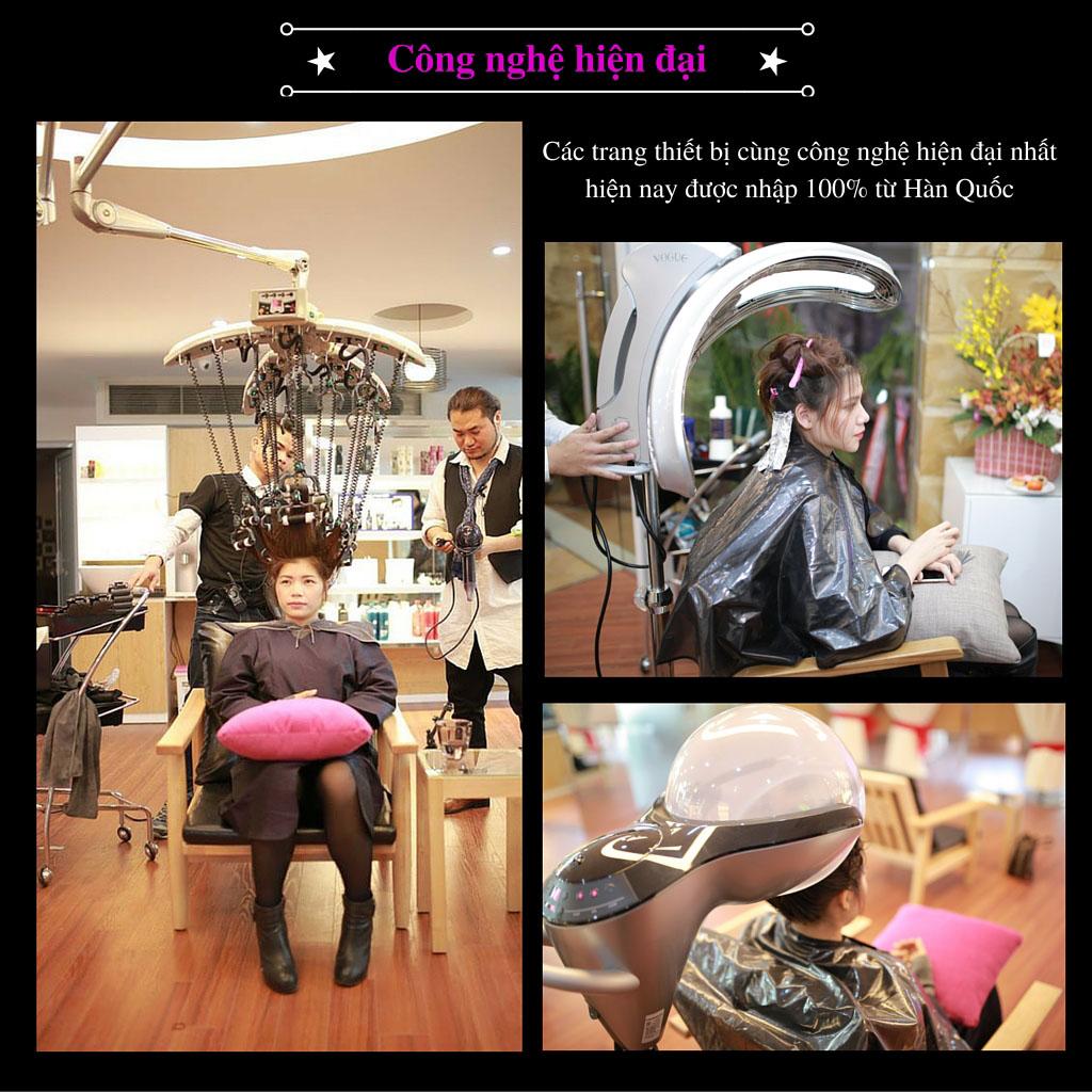 Công nghệ chăm sóc tóc hiện đại tại Lovely Korea & Beauty