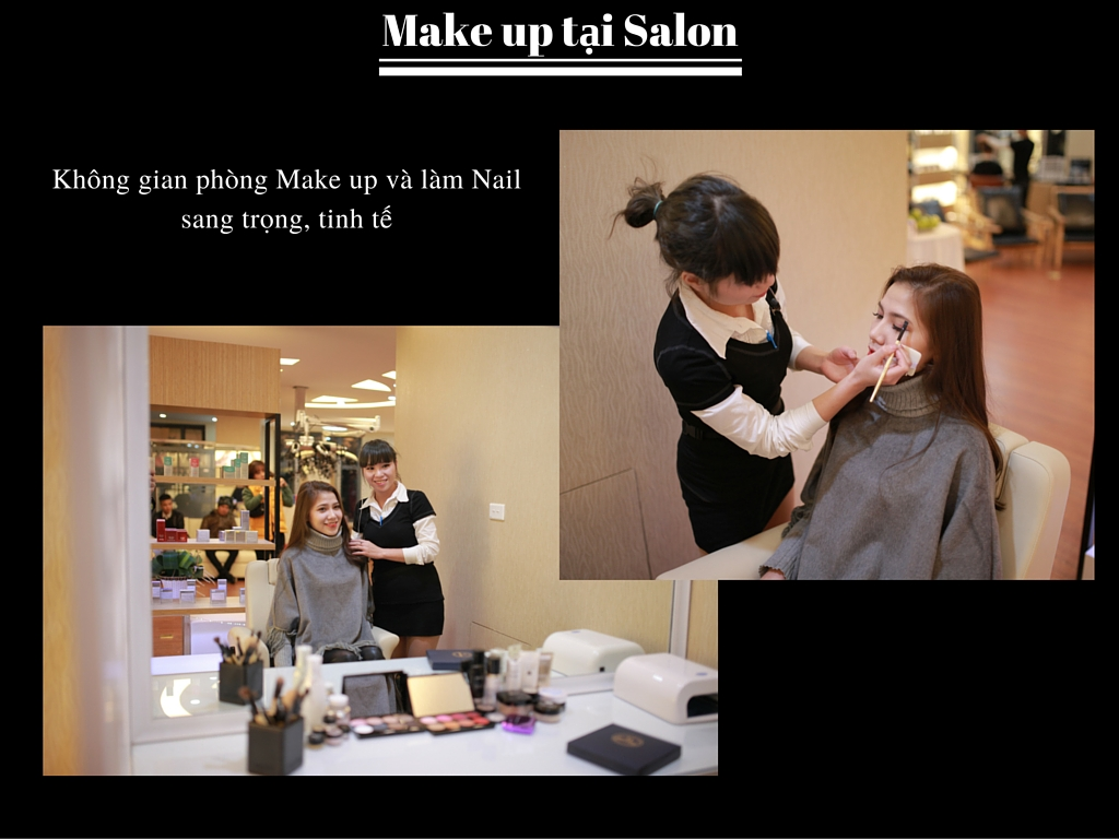 Make up tại Salon
