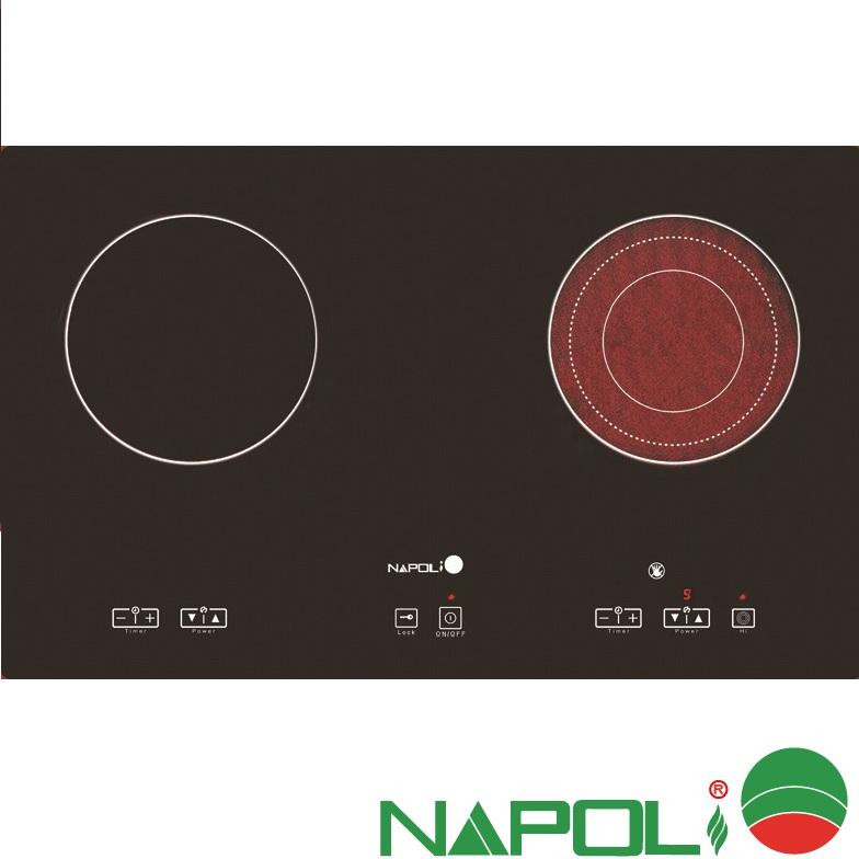 bếp điện từ napoli