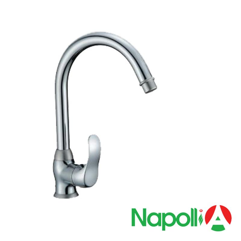 Vòi rửa bát inox Napoli LD 9807D