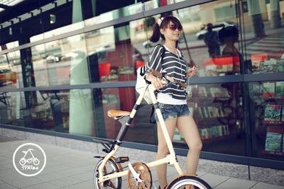 Xe đạp gấp strida lt quá nhiều màu để lựa chọn