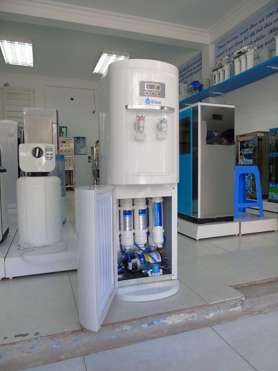 Cấu tạo máy lọc nước nóng lạnh iClean 2 vòi