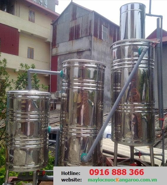 Bộ lọc nước sinh hoạt trọng lực cho gia đình