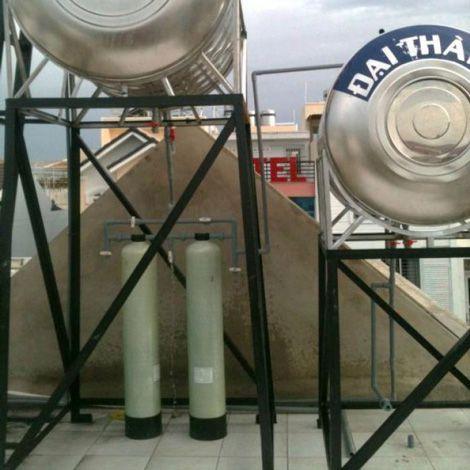 Lắp đặt máy lọc nước tổng sinh hoạt cho gia đình