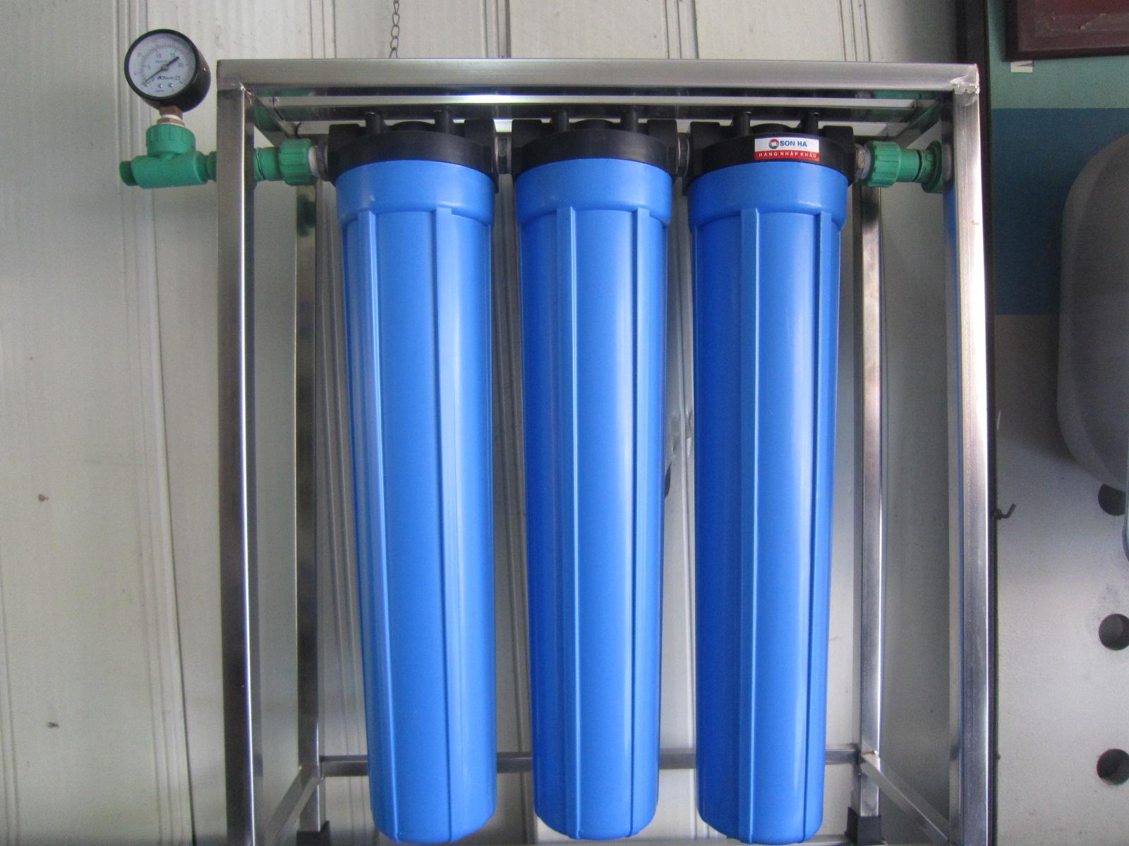 Vì sao nên sử dụng hệ thống lọc nước đầu nguồn