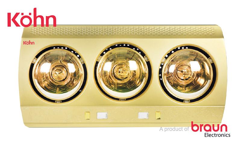 Mua đèn sưởi nhà tắm Braun Kohn tốt nhất, phù hợp nhất