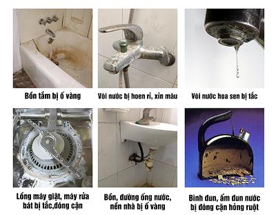 Nước cứng có tác hại gì? Cách xử lý bằng hệ thống lọc đầu nguồn?