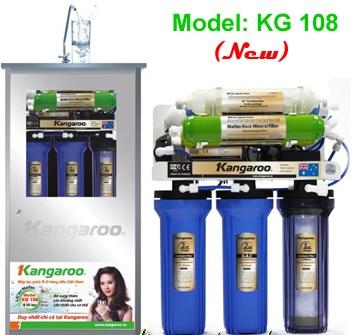 Máy lọc nước Kangaroo kg108 8 lõi có đăc điểm gì nổi bật? Giá bao nhiêu?