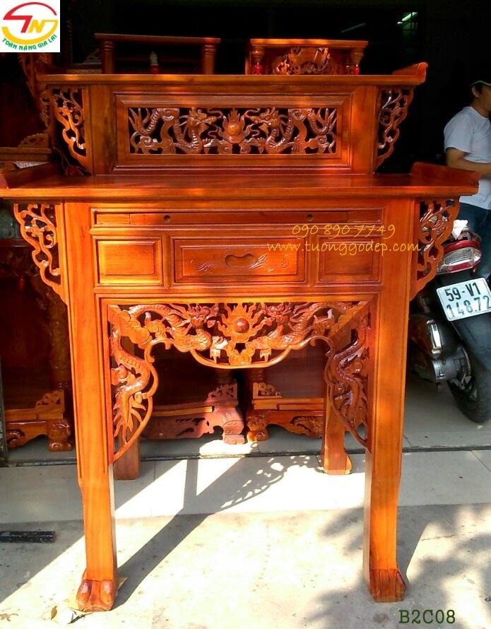 Bàn thờ Phật và Gia tiên