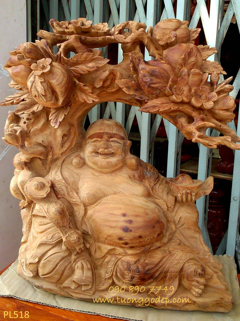 Phật Di Lặc gỗ ngọc am