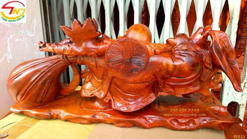 Phật Di Lặc kéo bao tiền