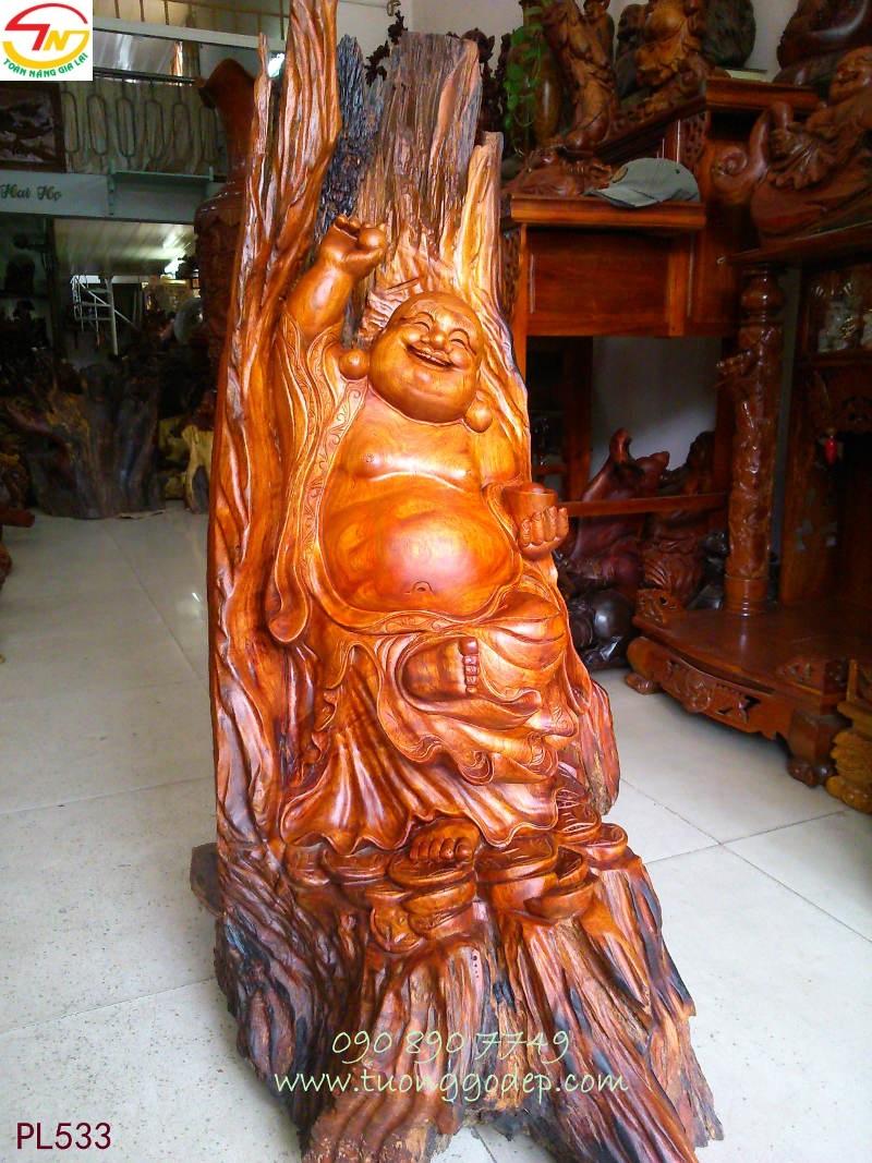Phật Di Lặc tự tại như ý