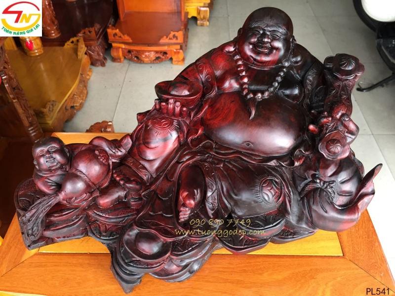 Phật Di Lặc gỗ trắc