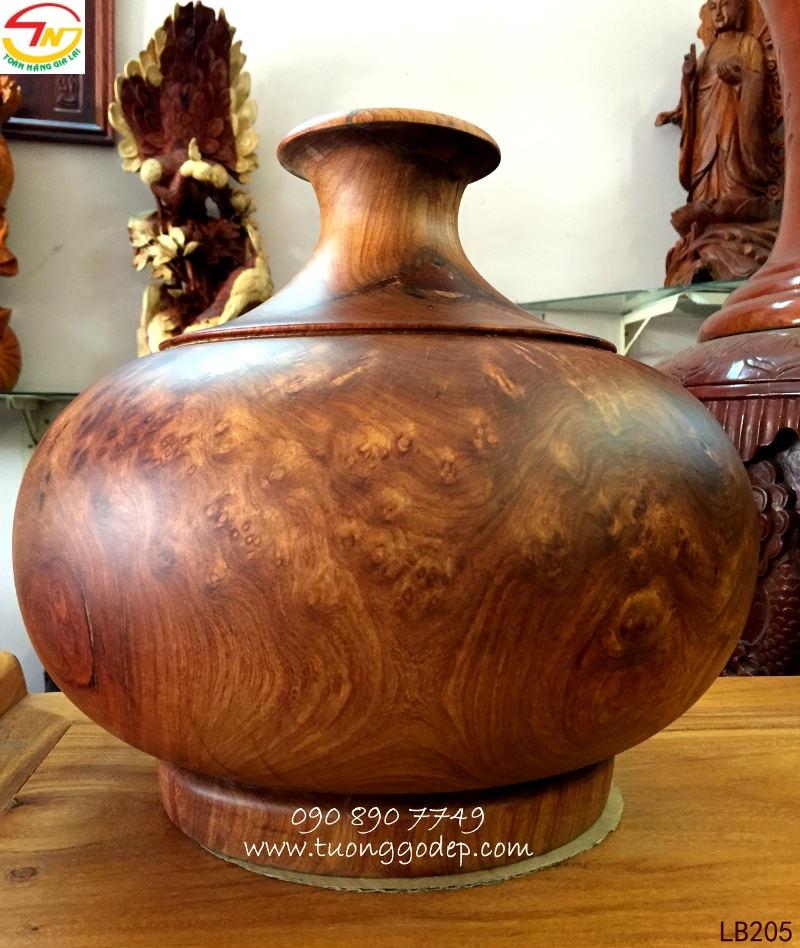 bình gỗ nu hương