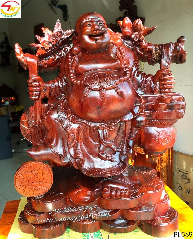 Phật Di Lặc gánh tiền