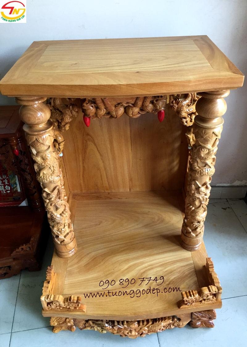 Bàn thờ Thần Tài bằng gỗ