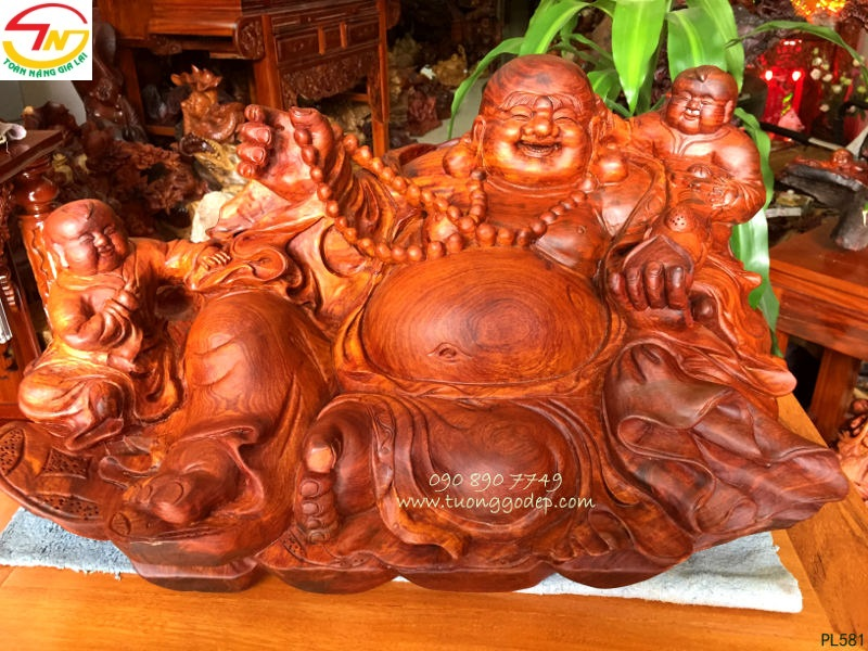 Tượng Phật Di Lặc nhị phúc