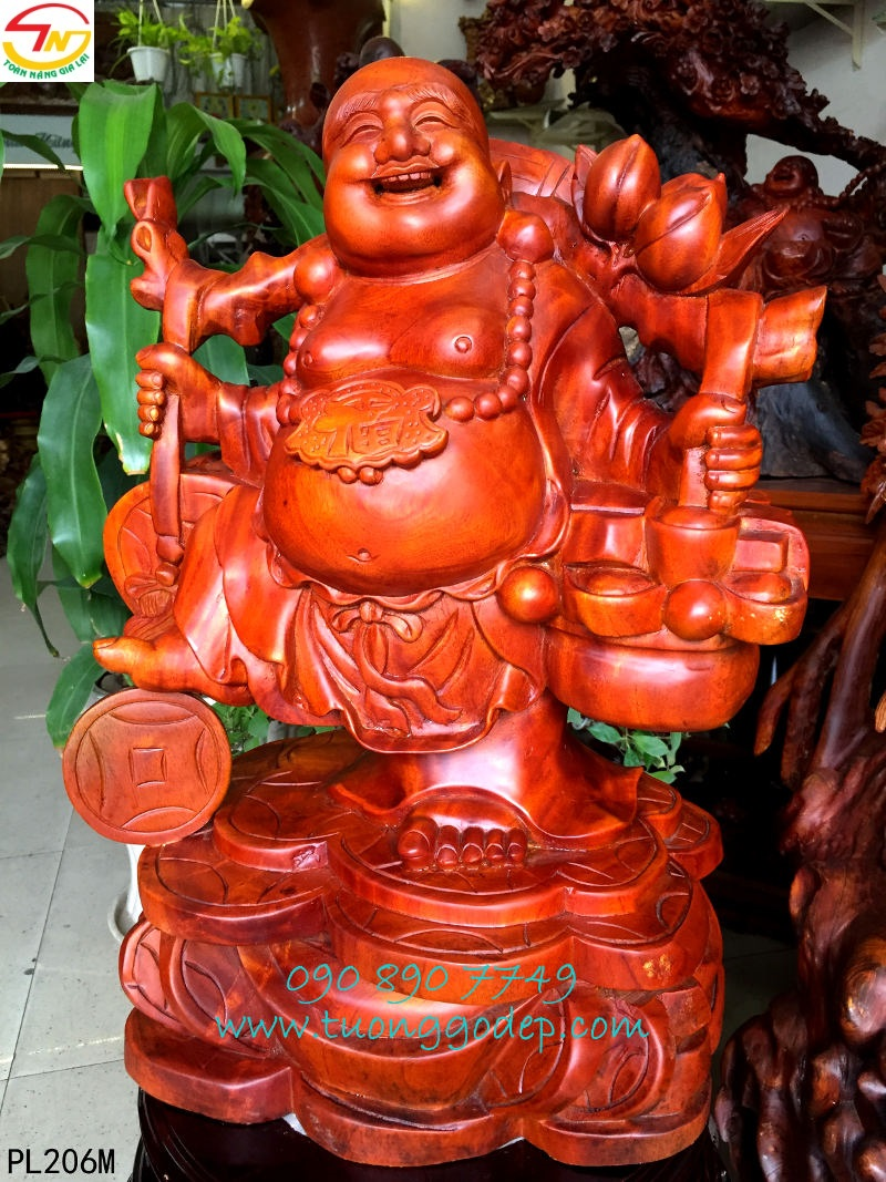 Phật Di Lặc tài phước tiến