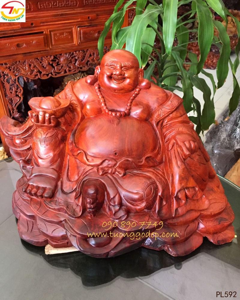 Tượng Phật Di Lặc chiêu tài