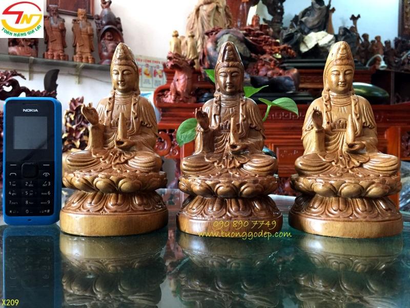 Tượng Phật Quan Âm để xe hơi