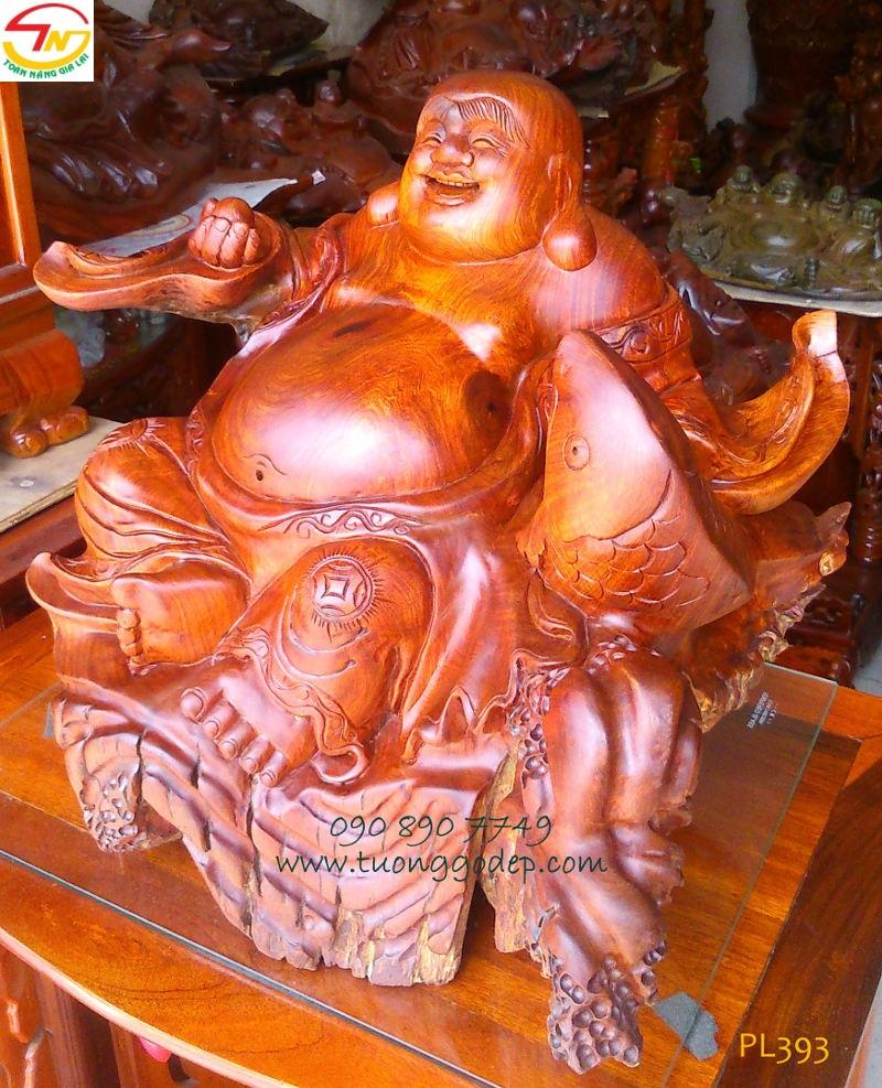 Phật Di Lặc và cá chép