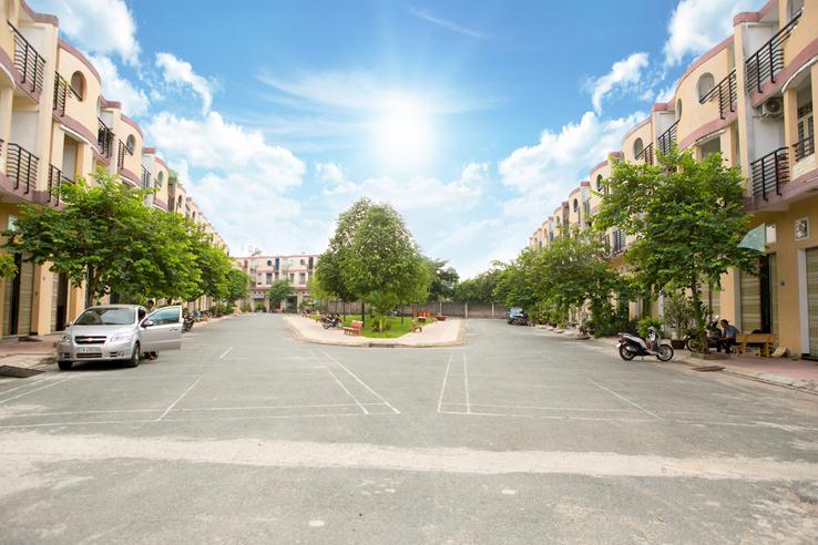 Dãy nhà phố - Khu dân cư Nam Thịnh