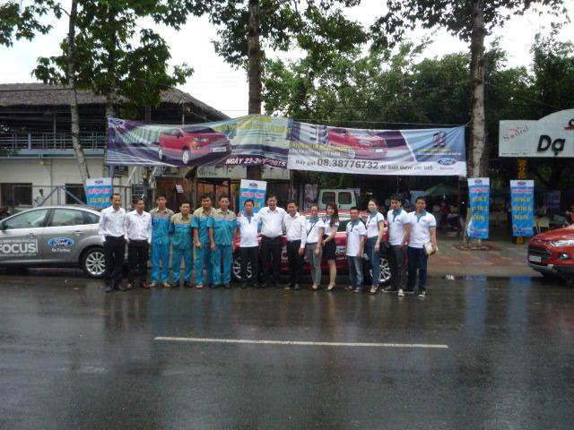 chương trình lái xe ford kiểm tra xe miễn phí Trà Vinh