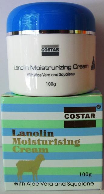 lanolin moisturising