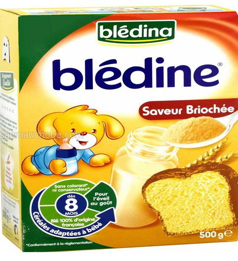 Bột Bledina bánh mỳ (500g) từ pháp