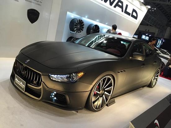 Description: Loạt xế độ tại triển lãm Tokyo Auto Salon 2015