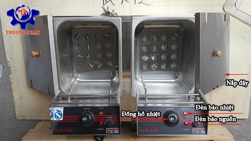 bếp chiên nhúng đơn dùng điện giá rẻ