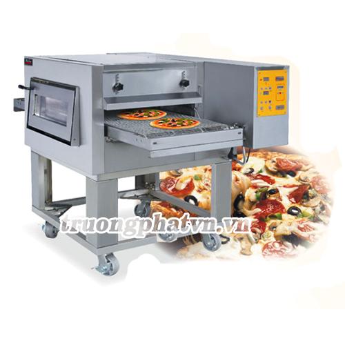 Hình ảnh lò nướng bánh Pizza băng chuyền