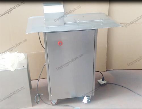 máy buộc chỉ xúc xích bằng điện
