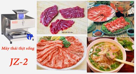 Máy thái thịt bò sống JZ-2