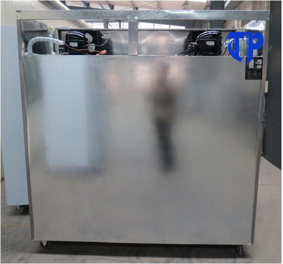 cấu tạo bên trong của tủ đông hoặc mát 6 cánh 1 chế độ