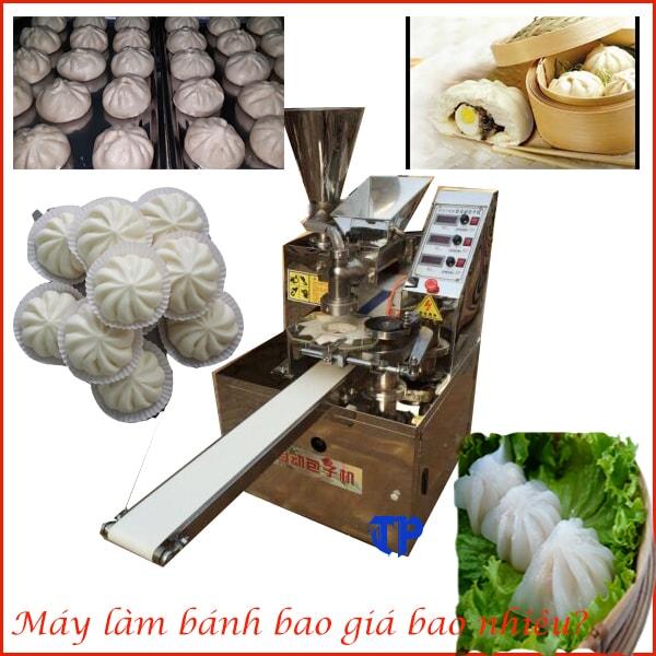Máy làm bánh bao đang được bán với giá phải chăng là 85 triệu đồng