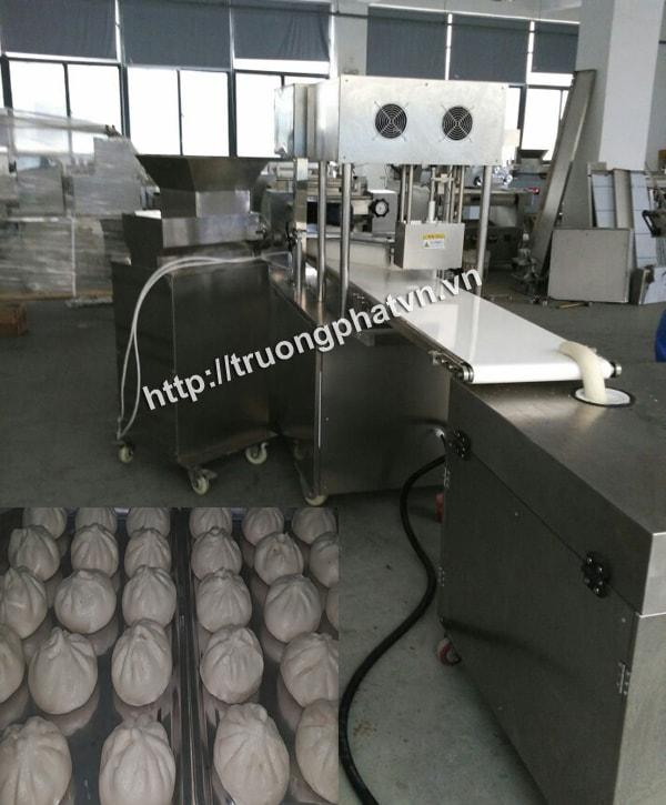 Máy làm bánh bao đem đến hiệu quả kinh tế cao nhờ khả năng làm việc liên tục