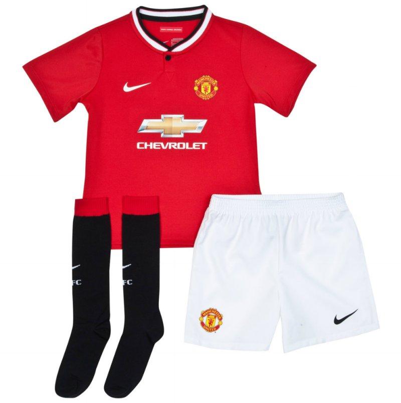 Quần áo bóng đá trẻ em Man đỏ 2014