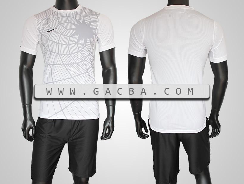 áo training Nhện trắng