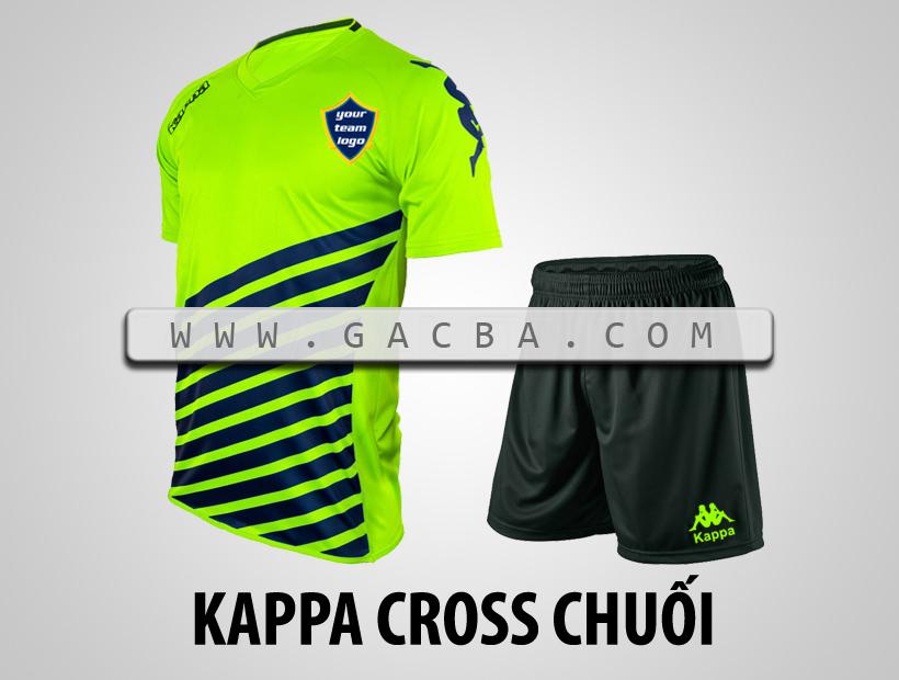 áo bóng đá Kappa Cross chuối