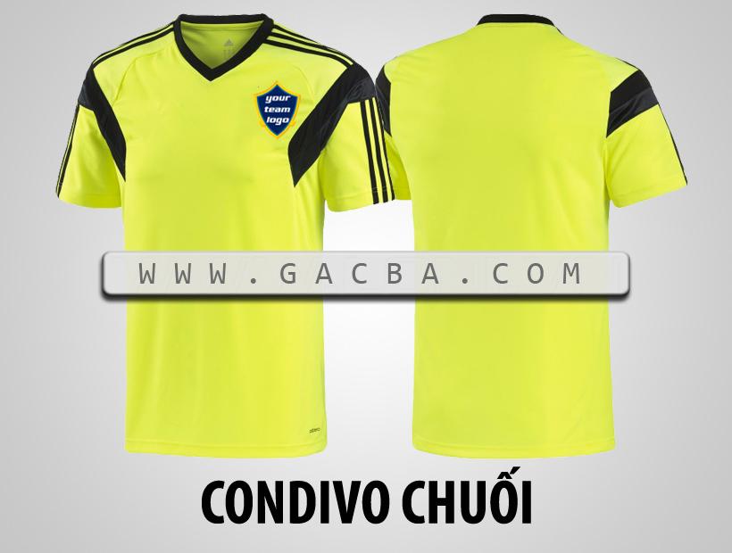 áo bóng đá không logo Condivo chuối