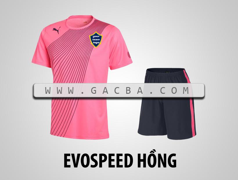 áo bóng đá không logo Puma Speed hồng