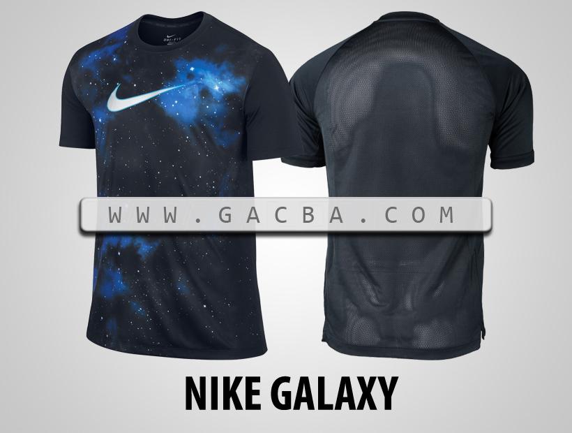 áo bóng đá không logo Nike Galaxy