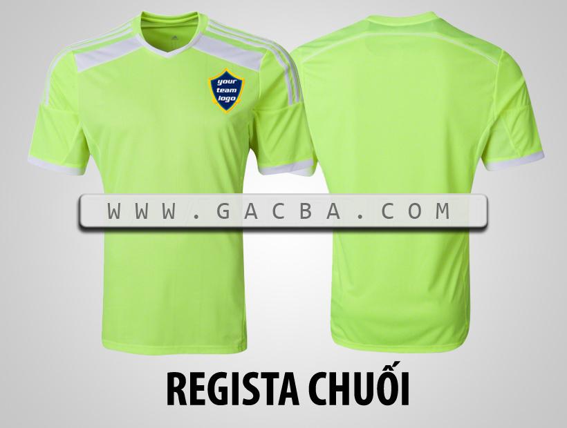 áo bóng đá không logo Regista chuối