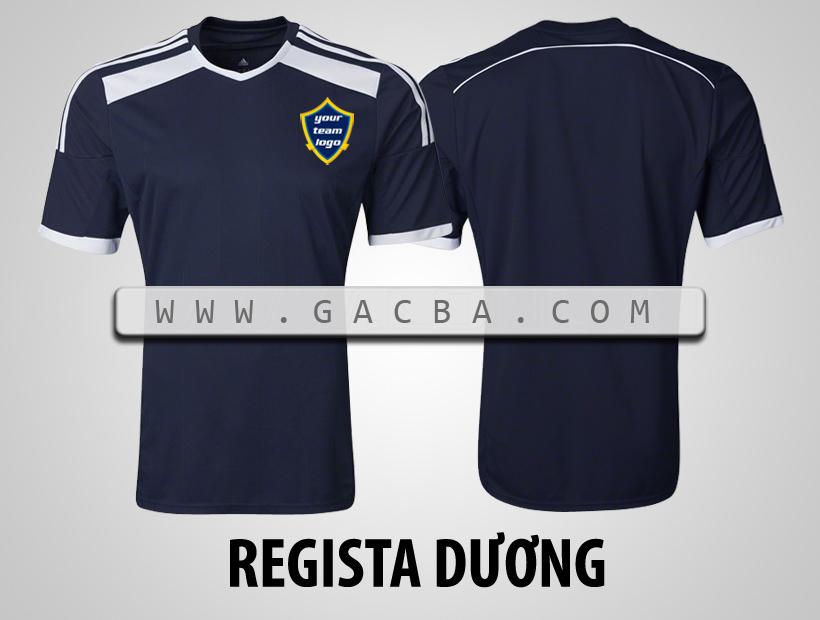 áo bóng đá không logo Regista tím than