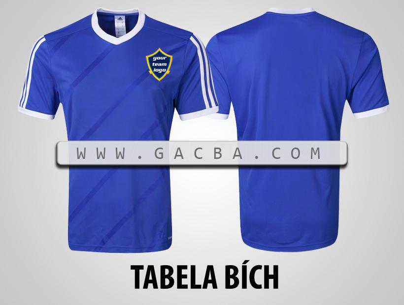 áo bóng đá không logo Tabela bích