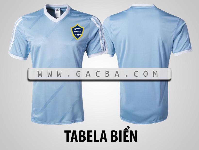 áo bóng đá không logo Tabela da trời