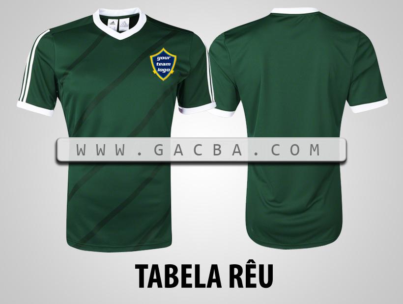 áo bóng đá không logo Tabela rêu