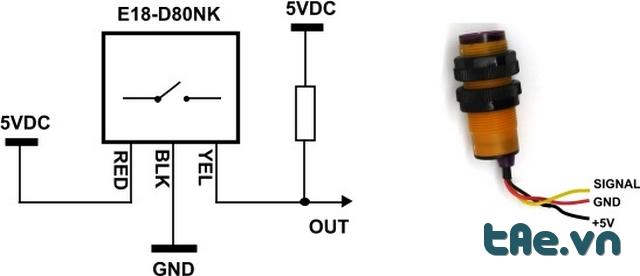 Cảm biến phát hiện vật cản D80NK